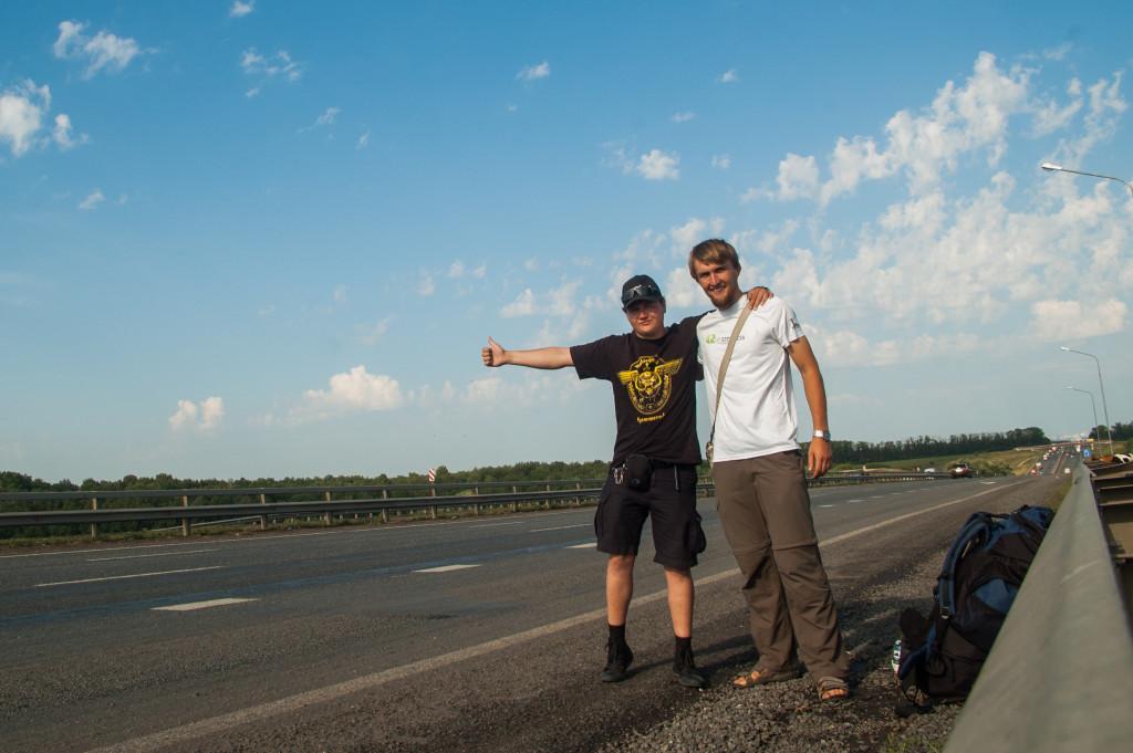 autostopem po Rosji