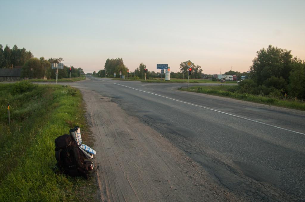 autostopem do moskwy