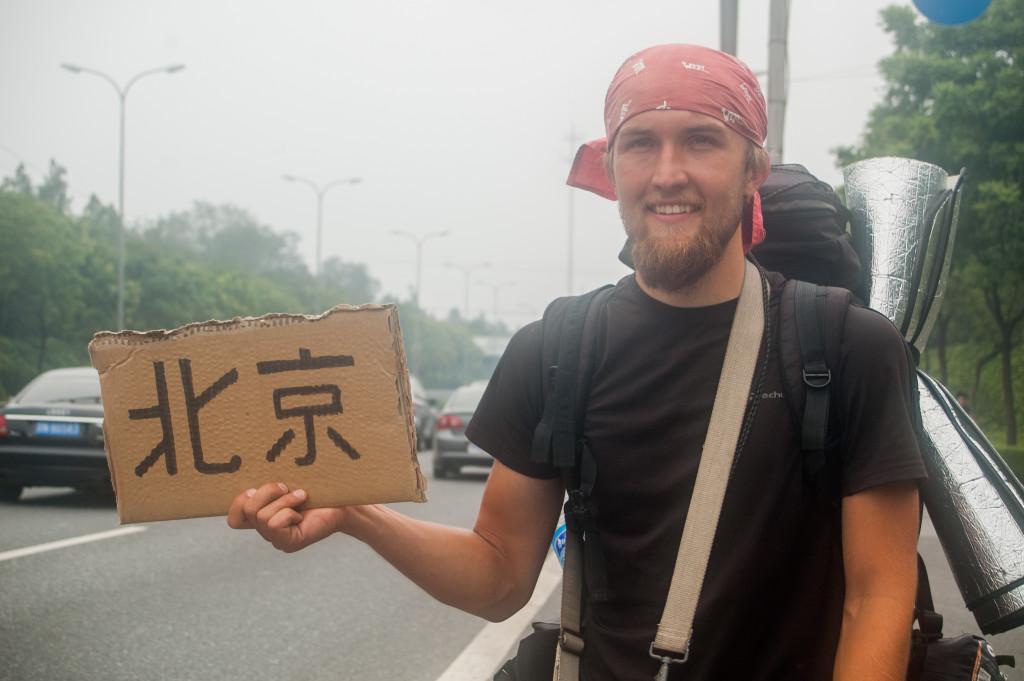autostop w chinach