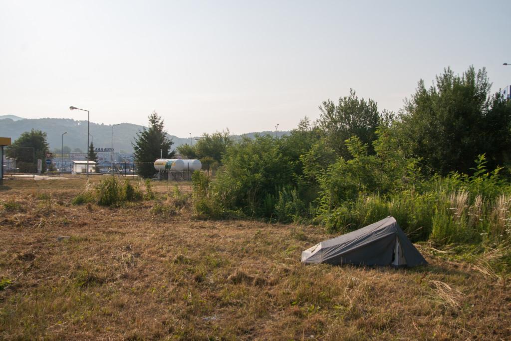 autostopem do bułgarii