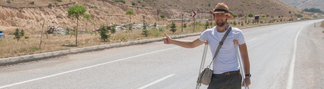 autostopem przez turcję