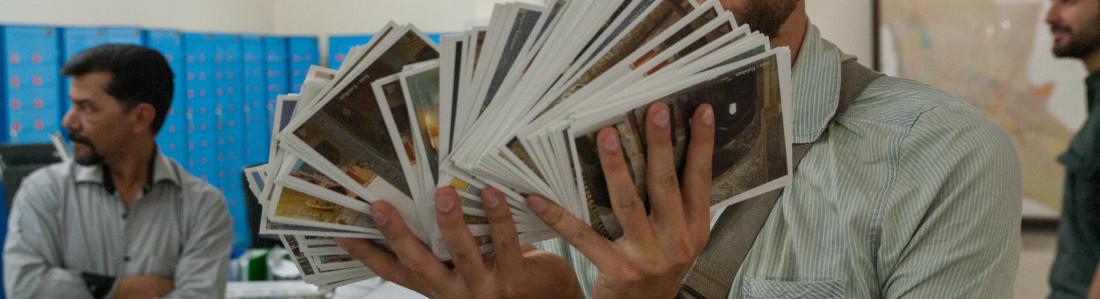 ćwierć tysiąca pocztówek