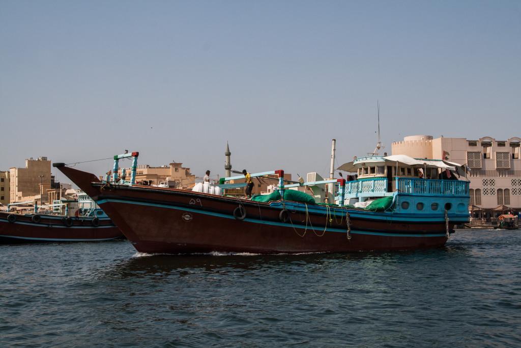 statkostopem przez zatokę perską
