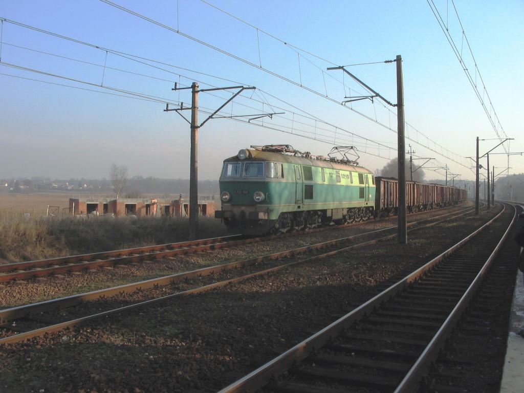 pociąg towarowy na stopa