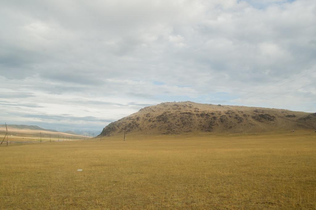 góry w podróży autostopem