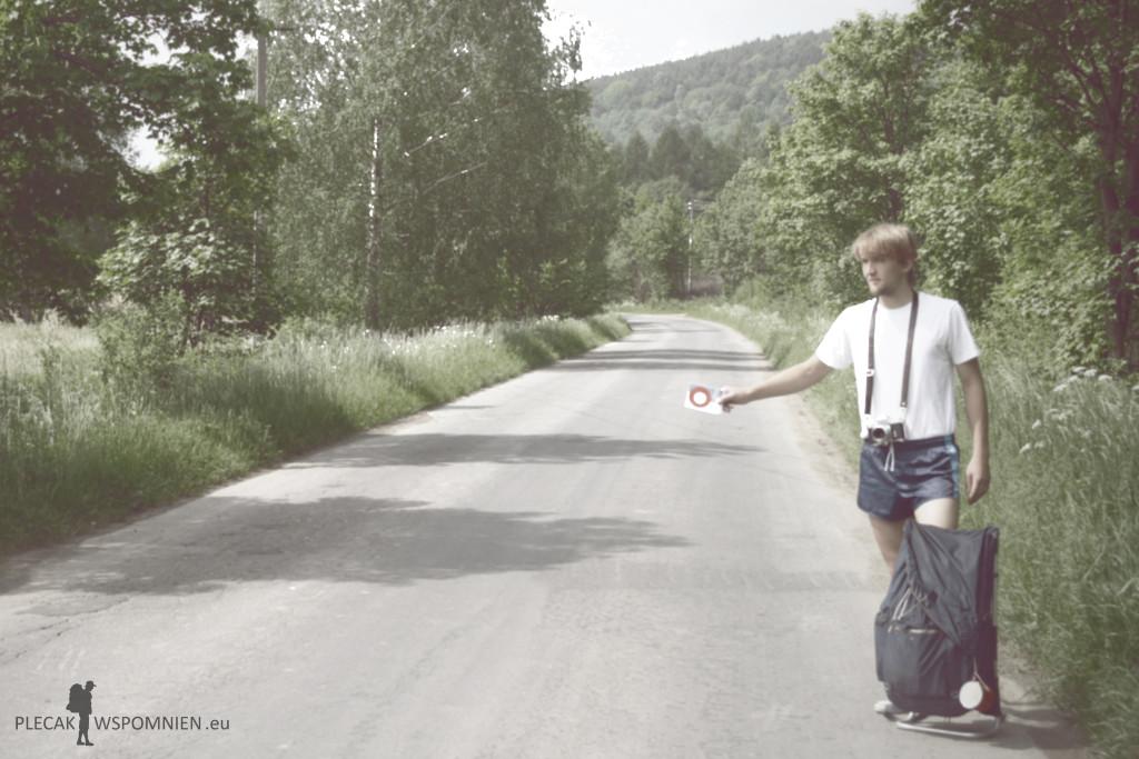 autostop dawniej