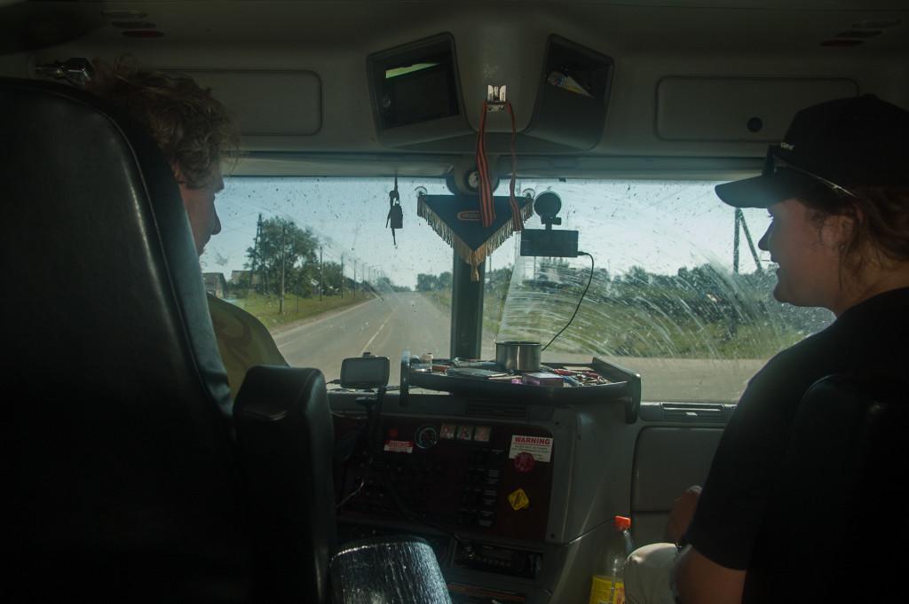 autostopem do irkucka