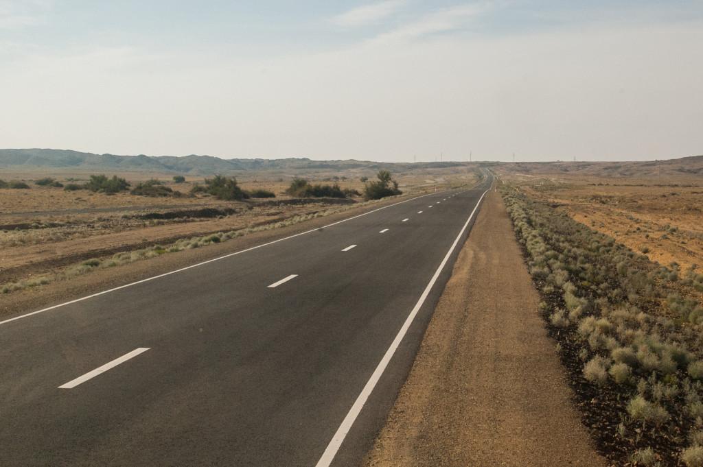 autostop w mongolii
